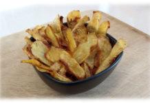 chips di patate speziate al forno