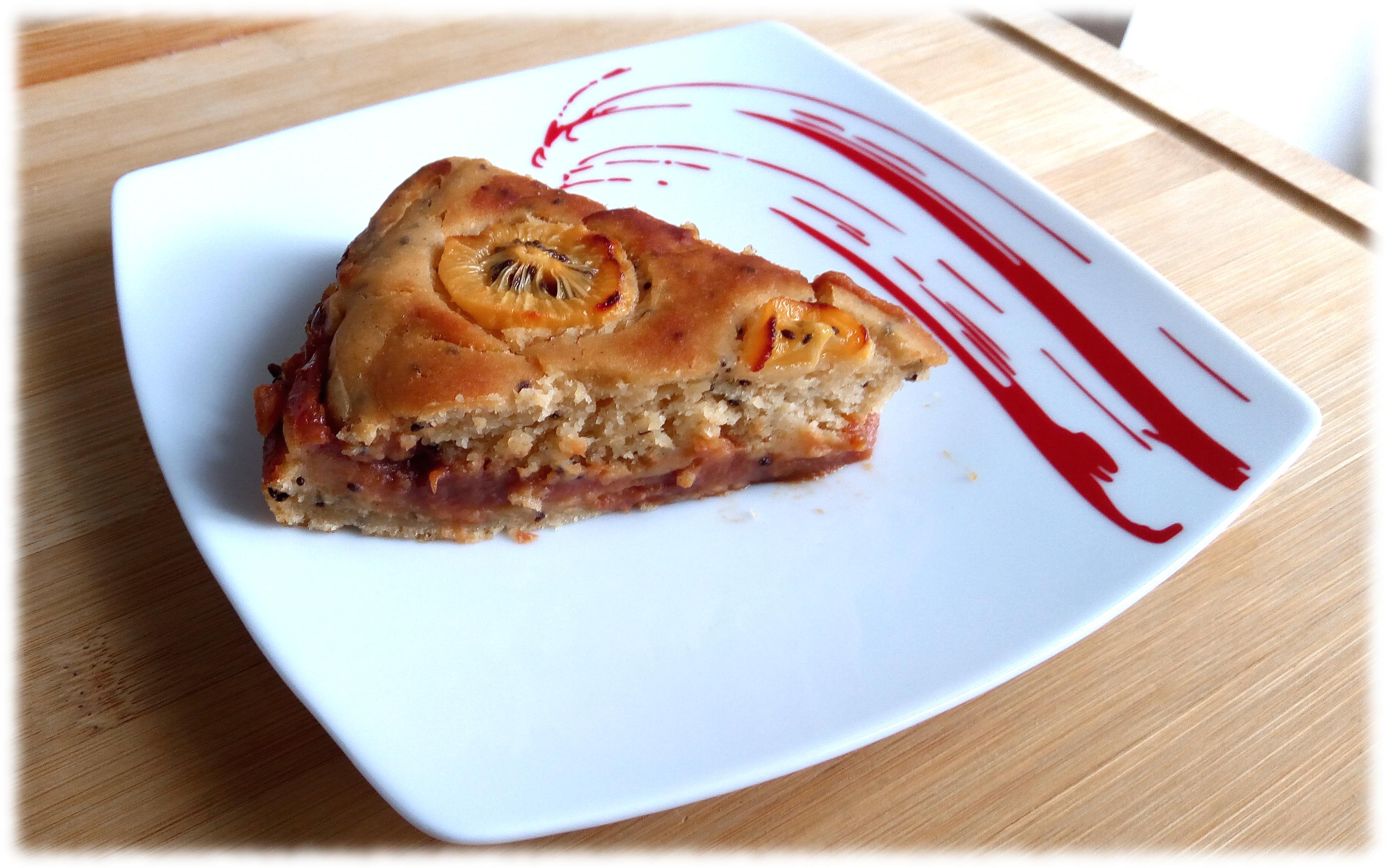 Ricetta di torta con marmellata di kiwi